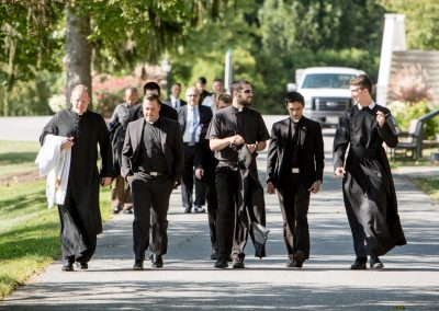Mount St. Mary's Seminarians