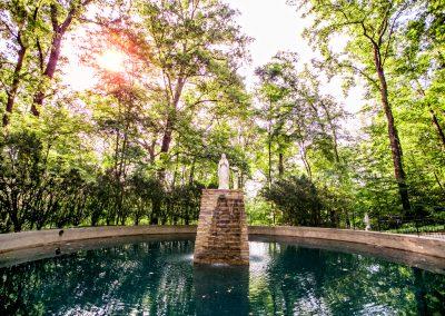 Grotto Prayer Fountain